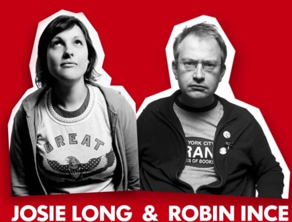 Robin Ince og Josie Long